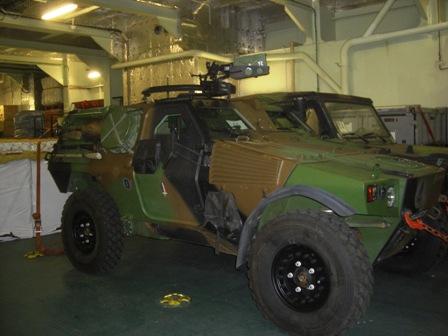 véhicule blindé léger